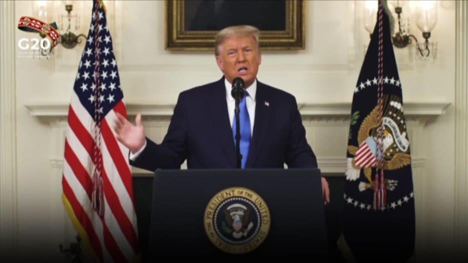 ترامب ينتقد اتفاق باريس للمناخ في قمة العشرين.. ماذا قال؟