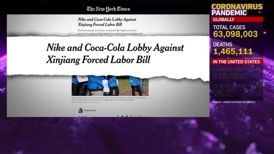 نايكي وكوكا كولا تواجهان تهماً بالضغط لمنع صدور قانون.. إليكم ما هو