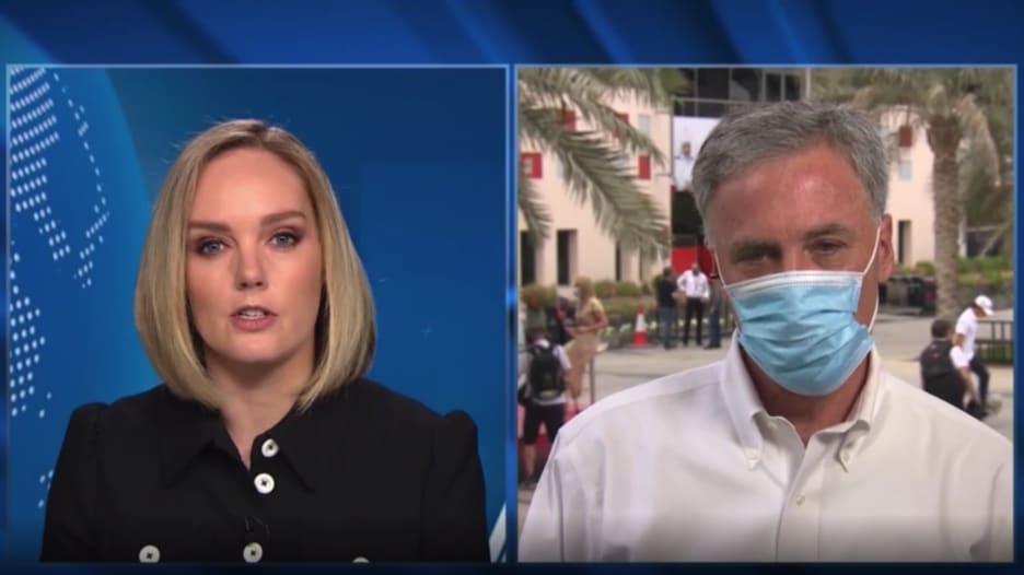 مذيعة CNN لرئيس فورمولا 1: هل أنت مرتاح من تعامل البحرين مع المحتجين؟.. هكذا رد