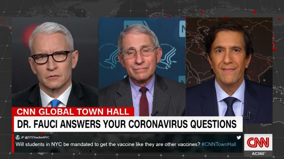 الدكتور فاوتشي: لقاح فيروس كورونا سيحميك من الإصابة بالمرض لكنه قد لا يحميك من العدوى