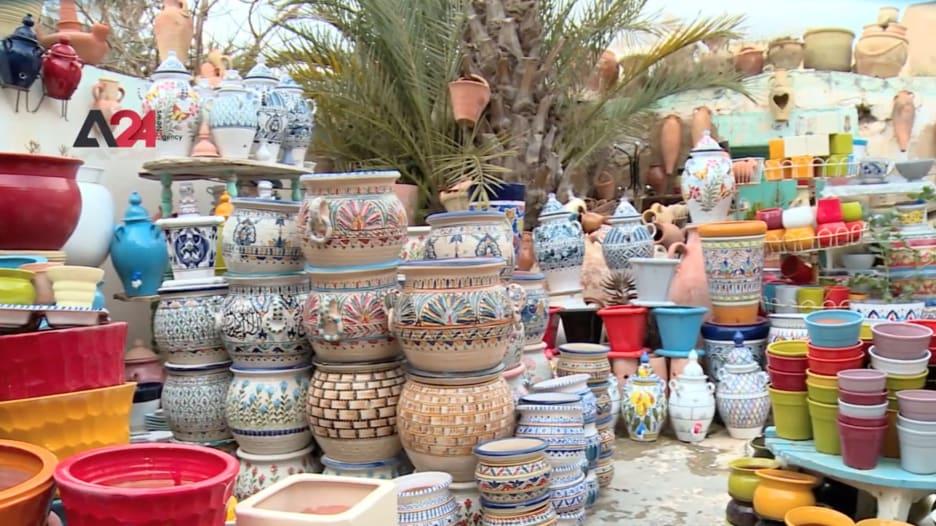عاصمة الخزف التونسي.. مدينة نابل الشهيرة بصناعة الفخار التي تتوارثها الأجيال
