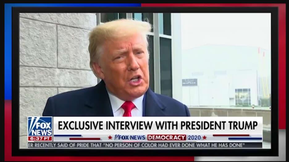 في أول مقابلة له بعد الانتخابات.. هكذا رد ترامب على سؤال عن حضوره تنصيب بايدن