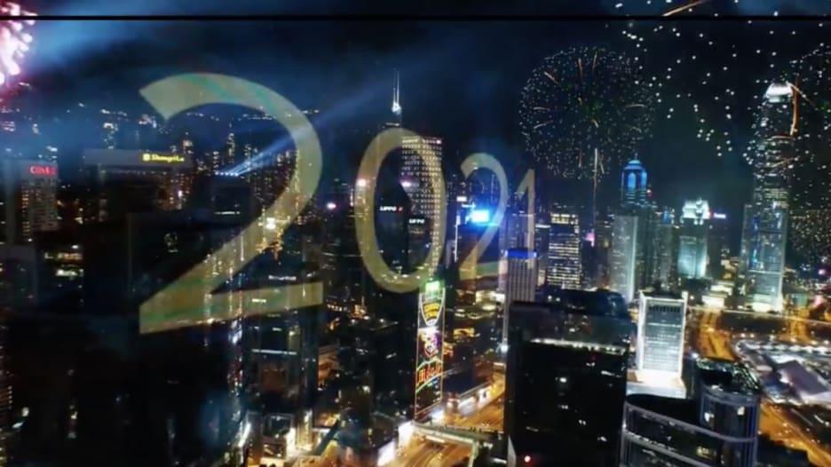 مشاهد من احتفال هونغ كونغ وتايلاند ونيوزيلندا وكوريا الشمالية برأس السنة 2021