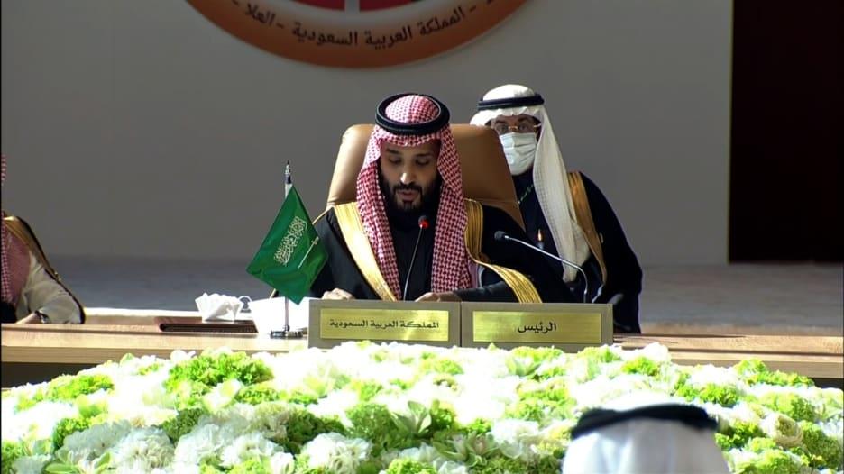 محمد بن سلمان في افتتاح القمة الخليجية: نحتاج إلى توحيد جهودنا لمواجهة التحديات خاصة تهديدات النظام الإيراني