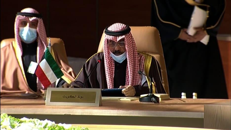 أمير الكويت في افتتاح القمة الخليجية: توقيع بيان العلا إنجاز تاريخي