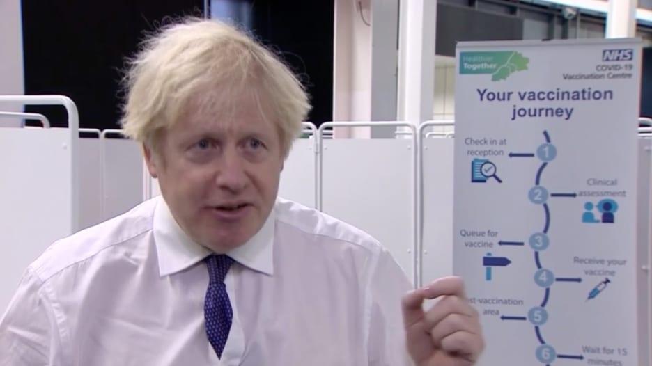 بوريس جونسون عن انتشار فيروس كورونا في بريطانيا: هذه لحظة محفوفة بالمخاطر