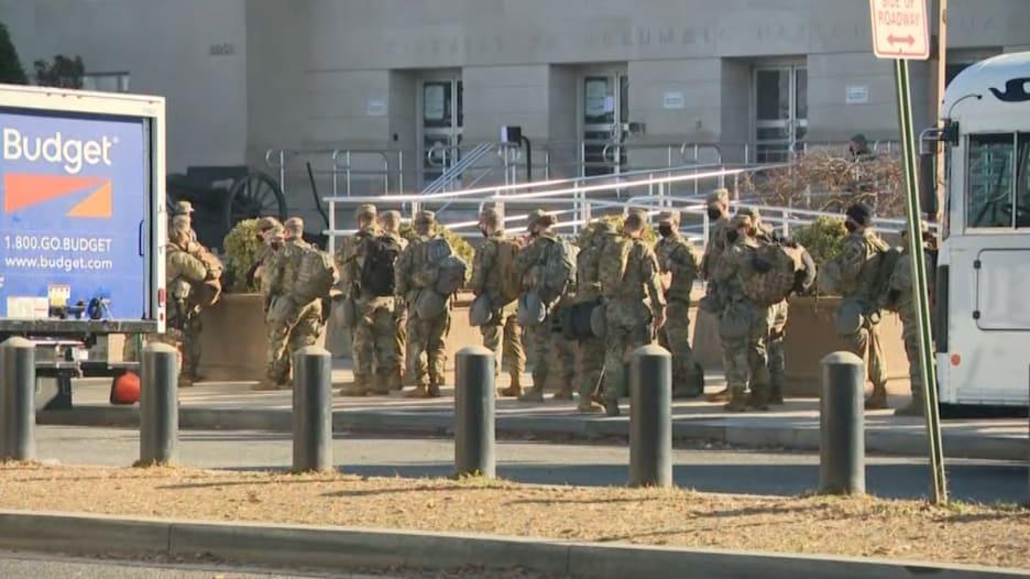 نشر جنود أمريكيون في واشنطن يفوق عدد القوات في العراق وأفغانستان معاً