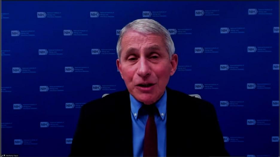 دكتور فاوتشي: لهذا السبب يجب على الأشخاص تلقي اللقاح بأسرع وقت ممكن