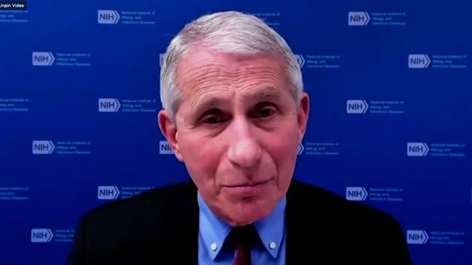 الدكتور فاوتشي يكشف السبب لوضعه قناعين بدلاً من قناع واحد للحماية من فيروس كورونا