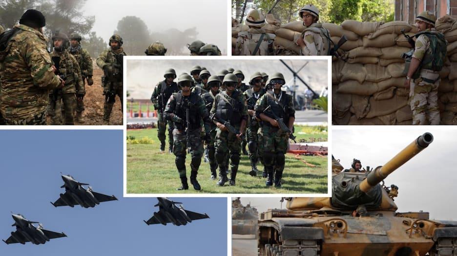 مقارنة بين قدرات جيشي مصر وتركيا وفق إحصائية 2021