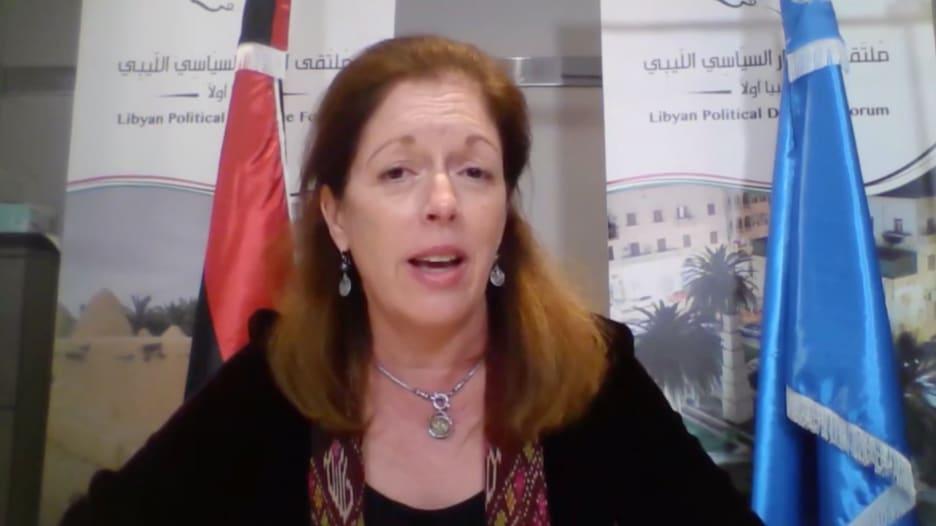 ستيفاني ويليامز تكشف عدد المقاتلين الأجانب الذين مازالوا في ليبيا