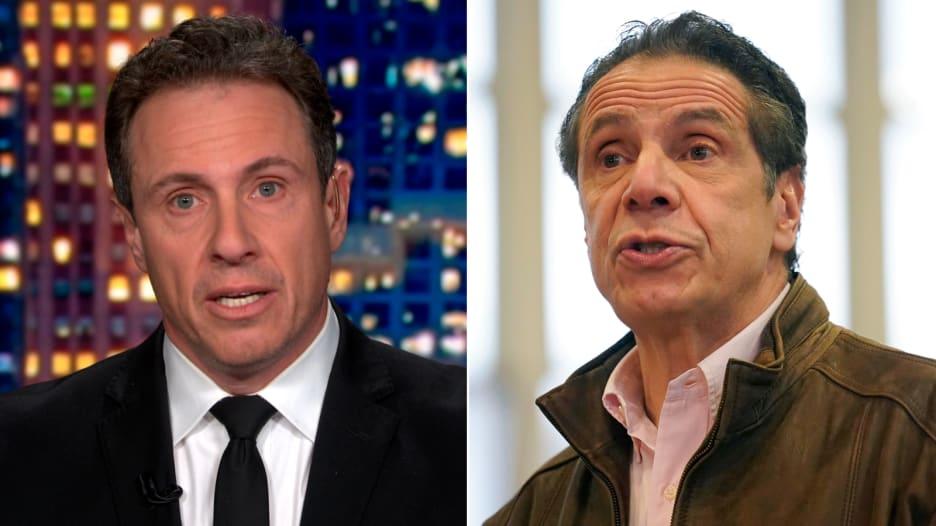 مذيع CNN كريس كومو يشرح سبب عدم تغطيته مزاعم التحرش ضد شقيقه حاكم نيويورك