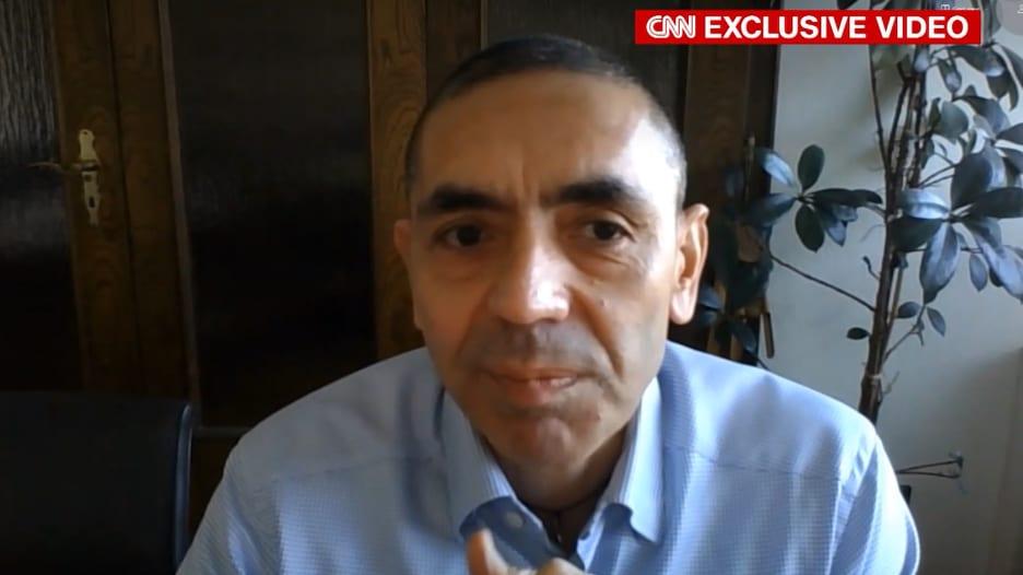 """حصري لـCNN.. رئيس """"بيو ان تك"""" يتحدث عن مصادر القلق المتعلقة بلقاح كورونا"""