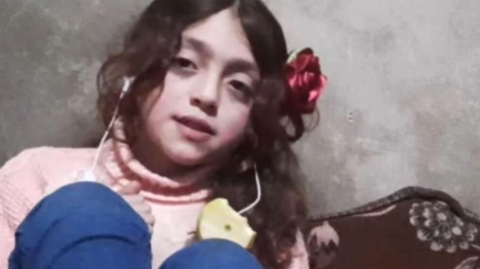كل ما عرفته هو الحرب.. طفلة سورية بعمر 11 عاماً تقدم لـCNN نظرة على يوم في حياتها