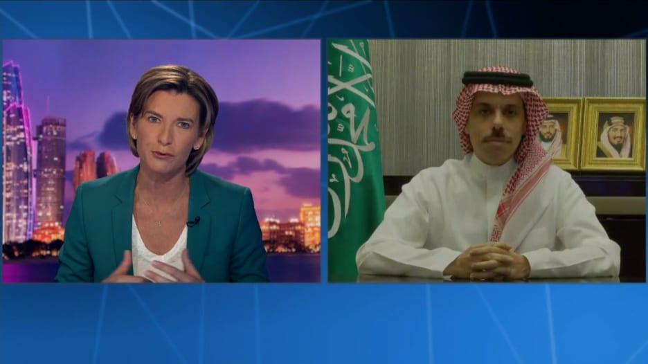 فيصل بن فرحان لـCNN: نأمل أن نرحب بالإسرائيليين في السعودية إذا تحقق تقدم في السلام