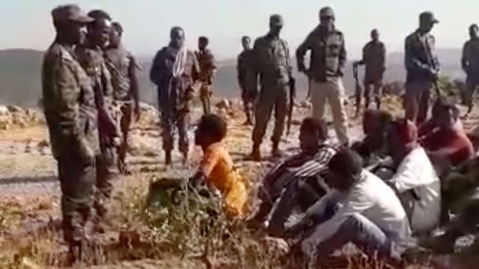 فيديو التقطه جندي منشق يظهر إعدامات وحشية لمدنيين في تيغراي