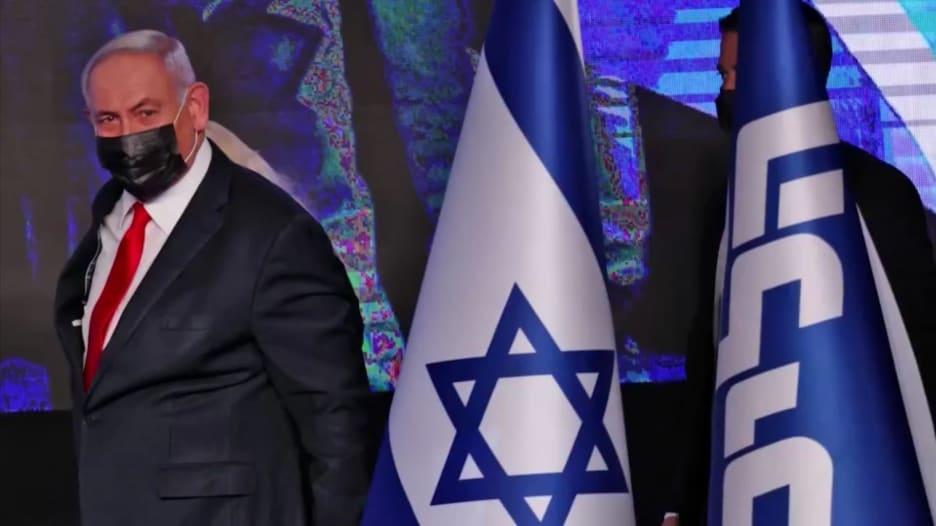 """بين السياسة ومحاكمته بالفساد .. نتنياهو يواجه كابوس """"الشاشة المقسمة"""""""