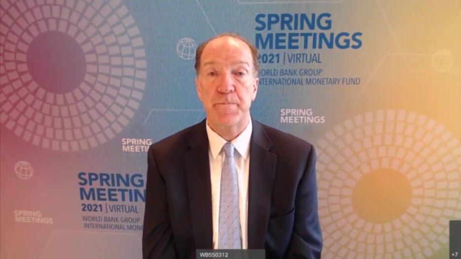 رئيس البنك الدولي: يجب مد البلدان الفقيرة باللقاحات بأسرع وقت ممكن
