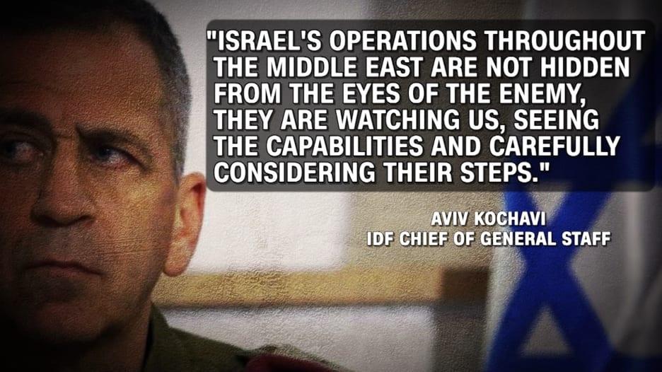 رئيس جيش إسرائيل يلمّح إلى دور محتمل لبلاده في استهداف مفاعل نطنز الإيراني