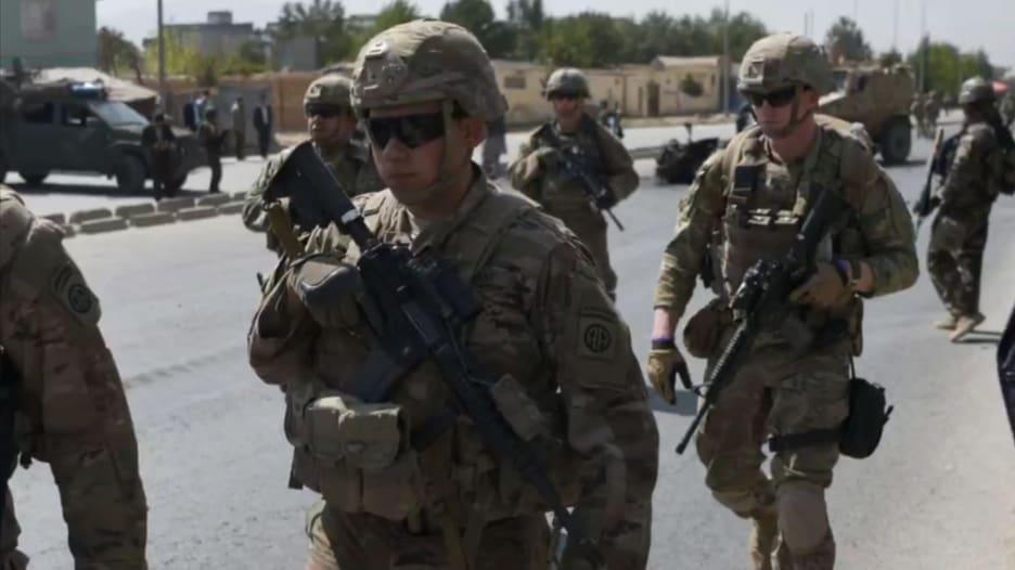 بايدن يعلن انسحاب القوات الأمريكية من أفغانستان ابتداء من 1 مايو