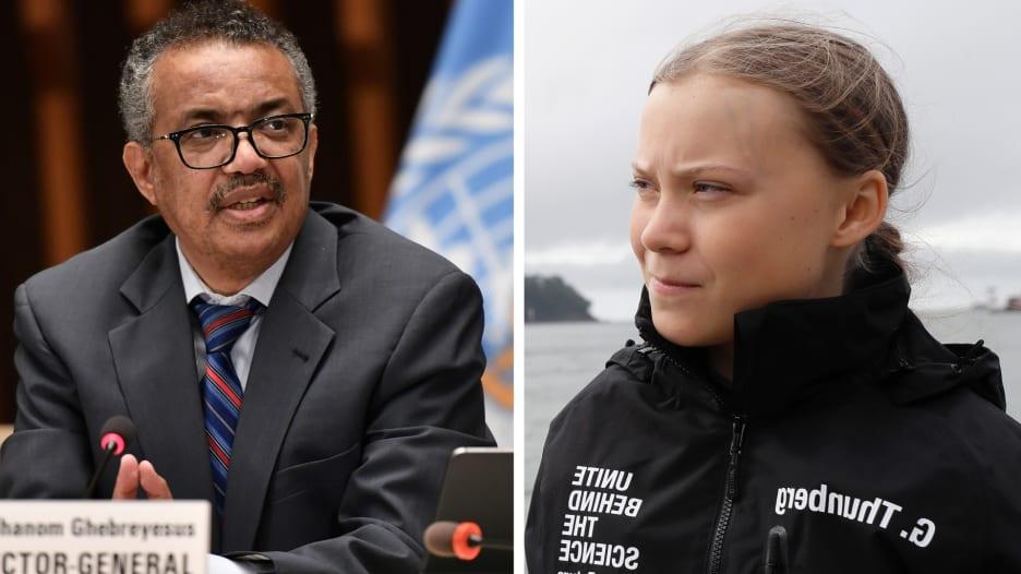 """منظمة الصحة العالمية تعلن تبرع غريتا ثونبورغ 100 ألف يورو لدعم """"كوفاكس"""""""