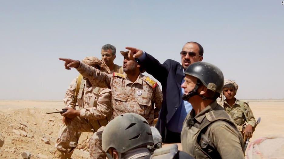كاميرا CNN تقف على خط المواجهة بساحة المعركة في اليمن