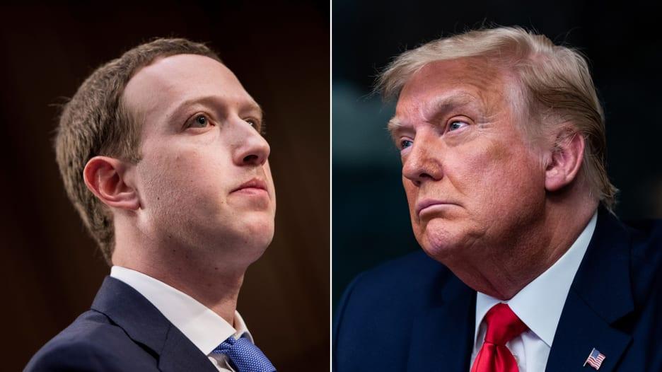 لجنة الرقابة في فيسبوك تدرس نقض حظر حساب ترامب.. ما تداعيات القرار؟
