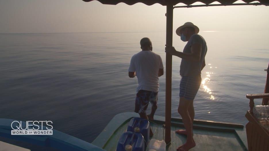 بدون شباك أو صنارة صيد.. شاهد كيف يصطاد سكان المالديف الأسماك باستخدام أيديهم فقط