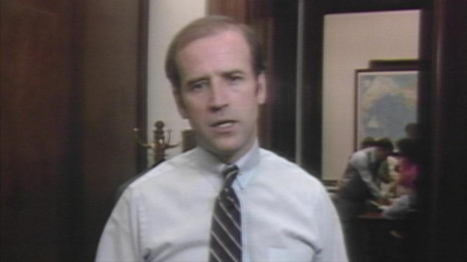 بايدن في 1983: حان الوقت للعمل والبناء أو الصمت