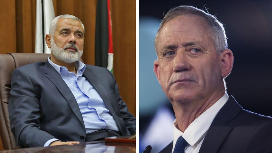 """وزير الدفاع الإسرائيلي: الغارات """"مجرد البداية"""".. وحماس: المقاومة جاهزة"""