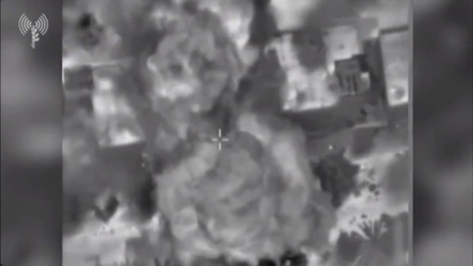 طائرات إسرائيلية تقصف فتحة نفق لحماس قرب روضة أطفال ومسجد