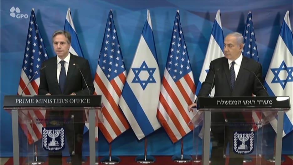 بلينكن: الخسائر على الجانبين الفلسطيني والإسرائيلي كانت فادحة