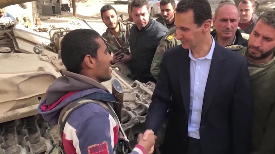 """السوريون صوتوا في انتخابات رئاسية """"غير شرعية"""" من المقرر أن يفوز بها الأسد"""