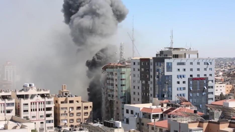 أسوشيتد برس: لم نر أدلة تدعم المزاعم الإسرائيلية بشأن المبنى المقصوف بغزة