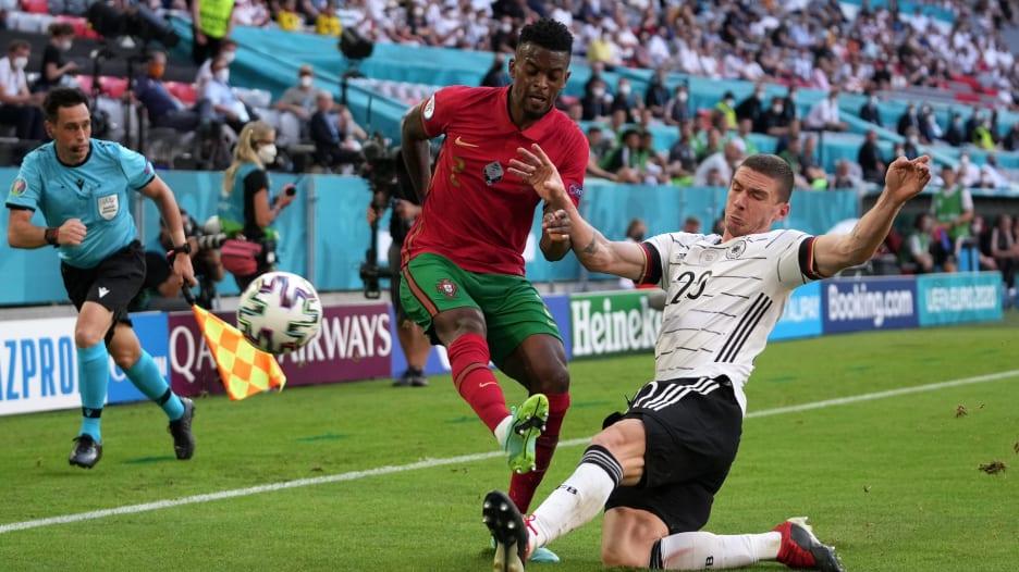 """ألمانيا تفوز على البرتغال بـ""""خدعة"""".. وسيميدو الضحية مجددا"""
