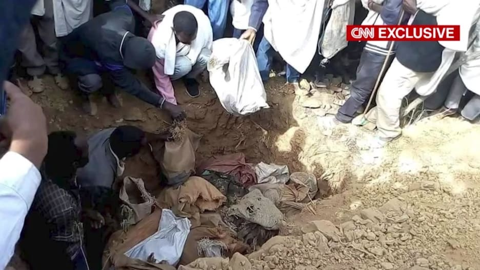 تحقيق CNN قد يوثق مذبحة كبيرة في تيغراي.. وذوي الضحايا: لا يمكننا النوم حتى دفنهم