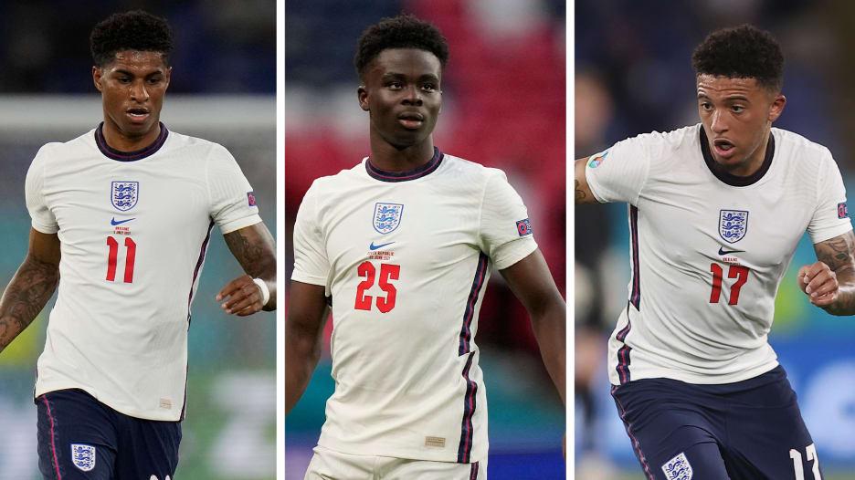 غضب إثر الإساءة العنصرية ضد راشفورد وسانشو وساكا.. ومدرب إنجلترا: أمر لا يمكن غفرانه