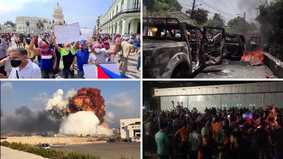 من العراق ولبنان إلى جنوب أفريقيا وكوبا.. كيف أثار فيروس كورونا الغضب حول العالم؟
