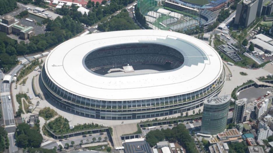 كاميرا CNN ترصد طوكيو من الجو قبل بدء أولمبياد 2020