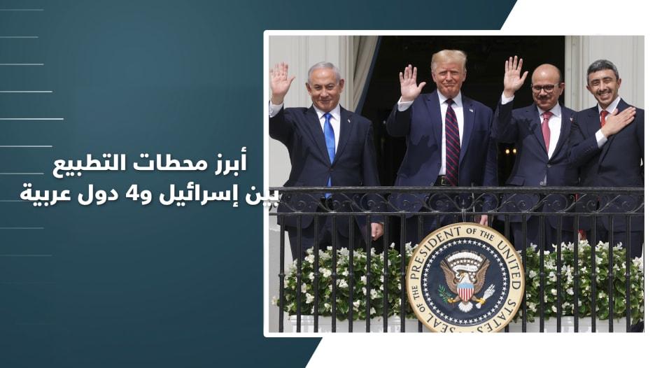عام على أول إعلان.. إليكم أبرز محطات التطبيع بين إسرائيل والإمارات والبحرين والسودان والمغرب