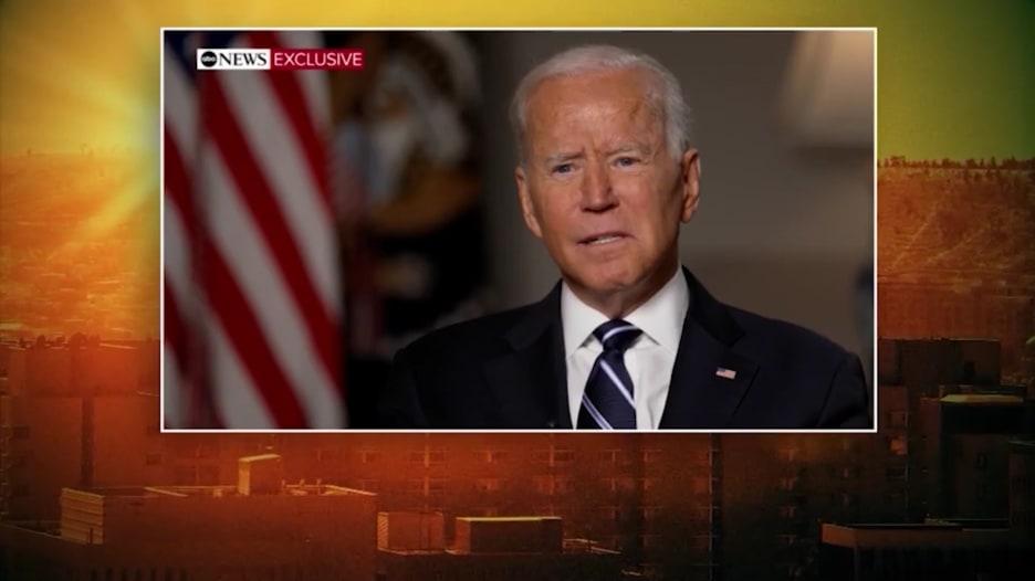 بايدن: الفوضى كانت حتمية بقرار الانسحاب من أفغانستان