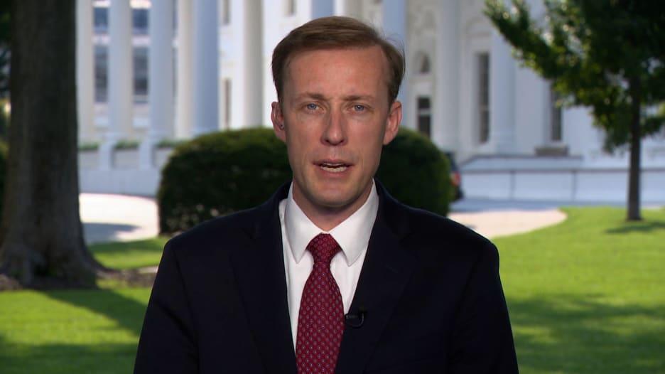 مستشار الأمن القومي الأمريكي: نأخذ تهديد داعش بمهاجمة مطار كابول على محمل الجد