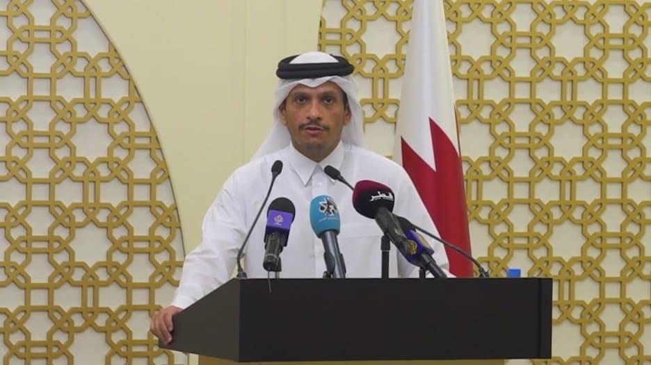 """وزير خارجية قطر: نأمل في """"أنباء سارة"""" بشأن إعادة تشغيل مطار كابول في أقرب وقت"""