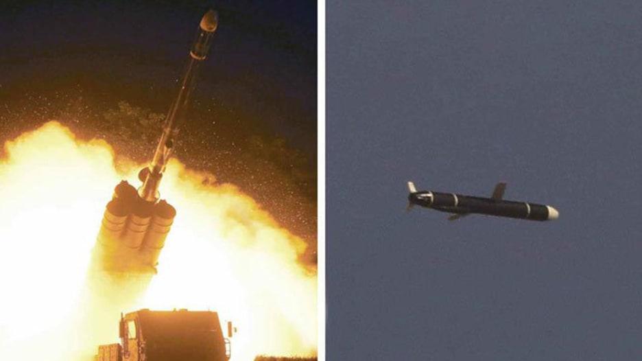 كوريا الشمالية تعلن اختبار صواريخ كروز مداها 1500 كيلومتر