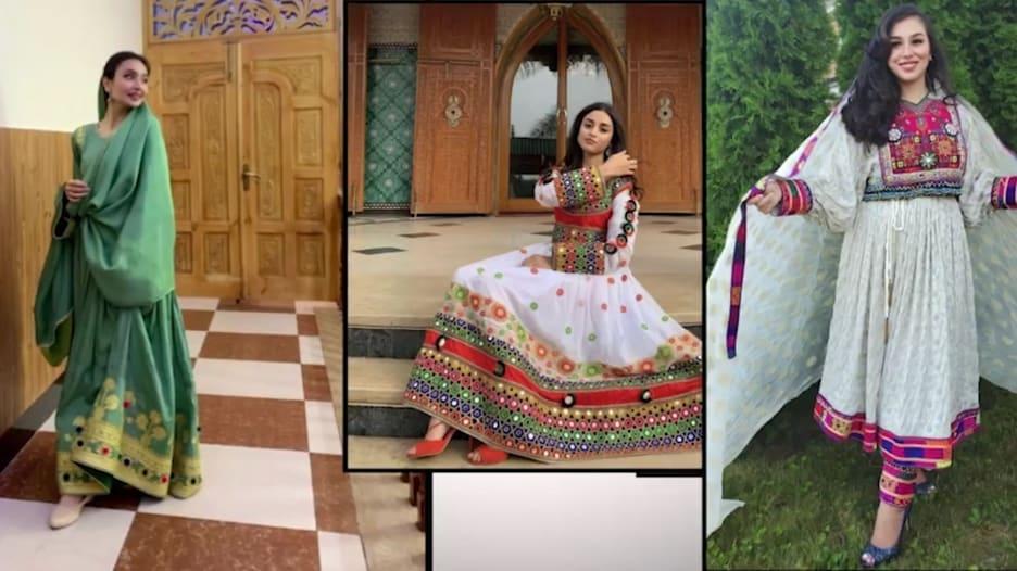 أفغانيات ينشرن صور الفساتين احتجاجًا على فرض طالبان الحجاب الأسود