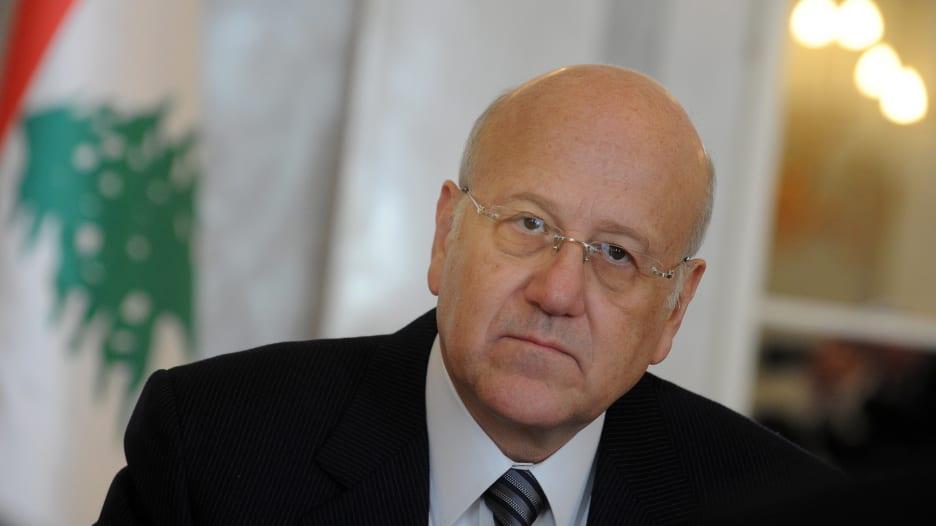 ميقاتي لـCNN: نتطلع لمساعدة العرب.. ومن مصلحتهم أن يكون لبنان مستقرا