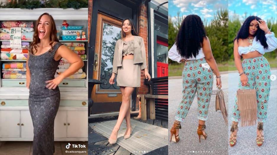 مستخدمو مواقع التواصل يثبتون أنك لست بحاجة للكثير من المال لتظهر كعارضي الأزياء