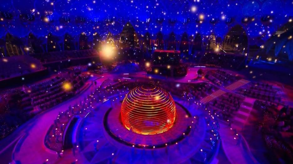 بعد 8 أعوام من الفوز باستضافته.. هكذا كان افتتاح معرض إكسبو 2020 دبي
