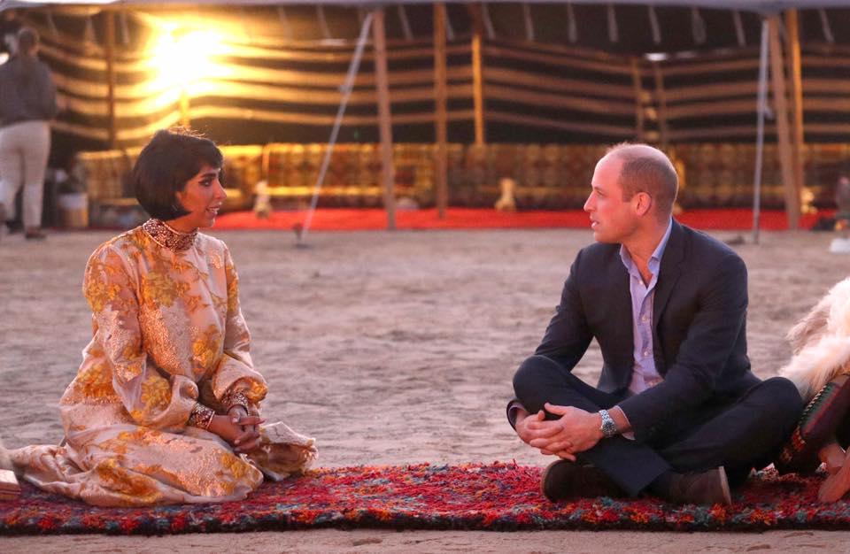 بزيارته الرسمية الأولى للكويت.. الأمير ويليام في رحلة برية في الصحراء