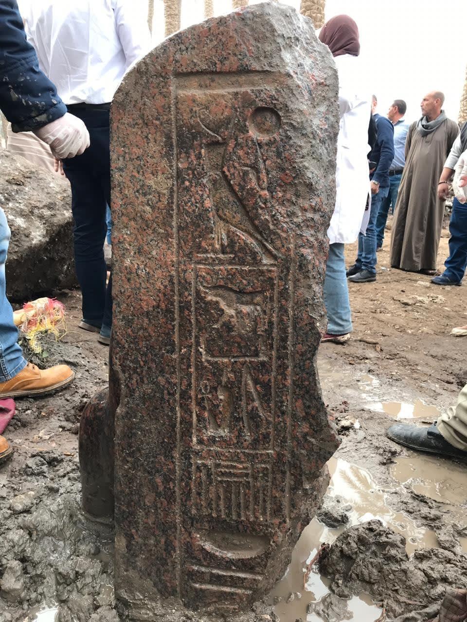 تمثال رمسيس الثاني